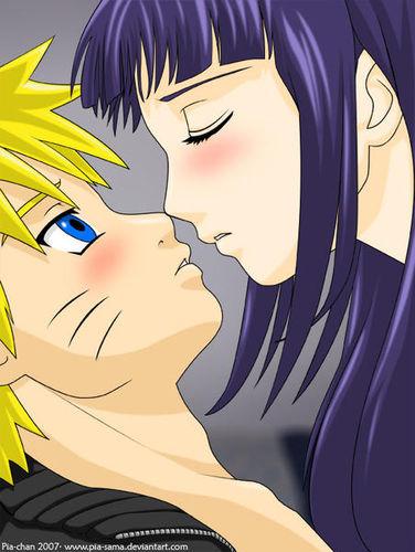 аниме картинки наруто поцелуи: